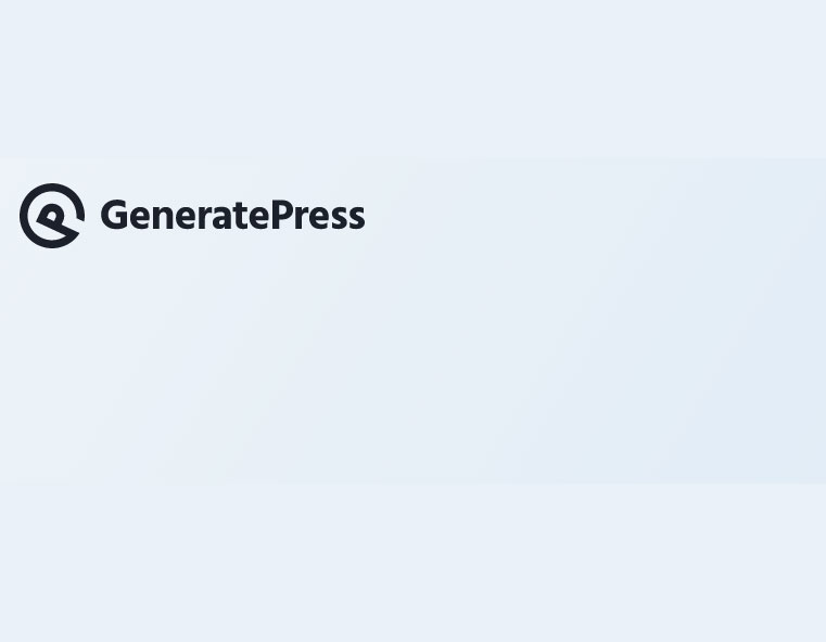 GeneratePress Genrate Press